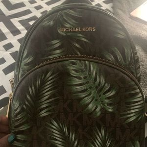 Authentic MK abbey backpack
